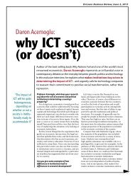 why ICT succeeds (or doesn't)