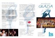 IB-Tanz-und Theatergruppe Ihre Kinder wollen auch mitmachen?