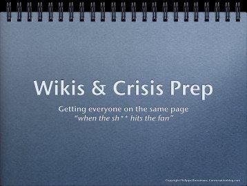 35% 65% Smoldering Crisis Sudden Crisis 1) Software 2) Pharma 3 ...