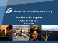 BNA Master Plan Update
