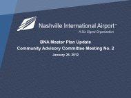 BNA Master Plan Update Community Advisory Committee Meeting No 2