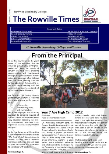 The Rowville Times