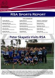 Peter Skapetis Visits RSA