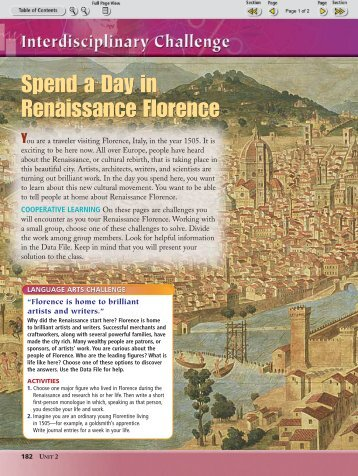 Spend a Day in Renaissance Florence