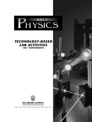 TECHNOLOGY-BASED LAB ACTIVITIES