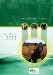 AnnuAl RepoRt 2011 - Animal Health Ireland