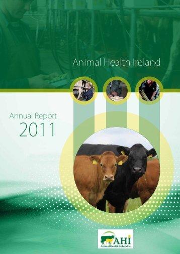 AnnuAl RepoRt 2011 - Animal Health Ireland