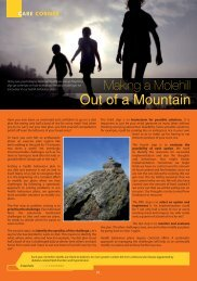 Out of a Mountain