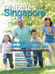 JOIN US ON 13 NOV! WORLD DIABETES DAY 2011