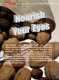 Age-related eye diseases such as macular degeneration and ...