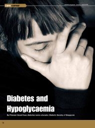 Diabetes and Hypoglycaemia
