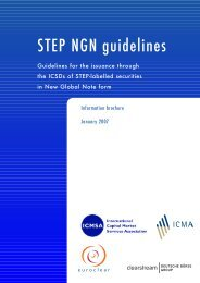 NGN STEP guidelines - ICMA