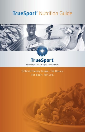 TrueSport Nutrition Guide