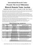 Biotech Domain Name Auction - Page 2