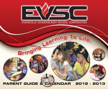 2012-13 Parent Guide and Calendar - Evansville-Vanderburgh ...
