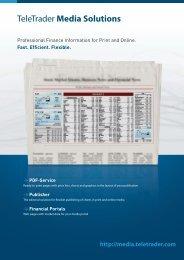 TeleTrader Media Solutions