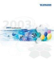 2003Geschäftsbericht - TeleTrader Products