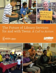 The Future of Library Services for and with Teens