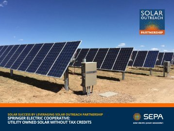 Delaware Municipal Electric Corporation's McKees Solar Park Community Solar