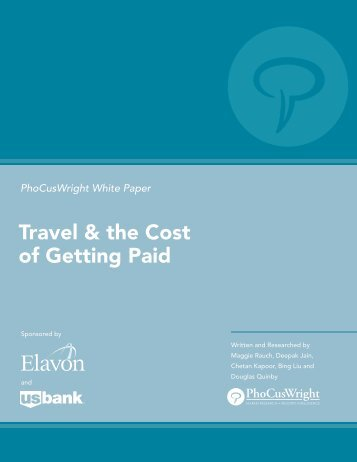 Travel & the Cost of Getting Paid