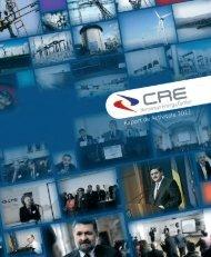 raport de actvitate cre 2012 - Centrul Român al Energiei