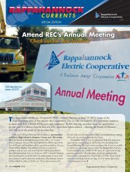 Attend REC's Annual Meeting Tmost