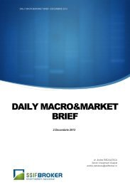 DAILY MACRO&MARKET BRIEF
