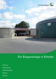 Biogasanlage Bohmte - EnviTec Biogas AG