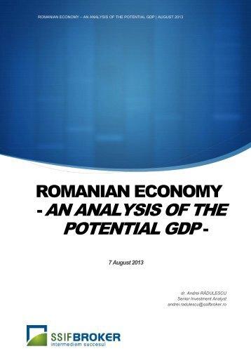 ROMANIAN ECONOMY - -