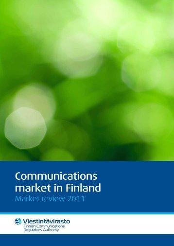 market in Finland
