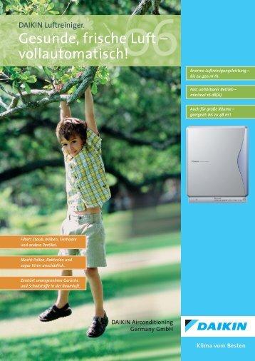 Gesunde, frische Luft – vollautomatisch!