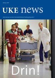Wir gratulieren dem UKE zur Eröffnung des modernsten Klinikums ...