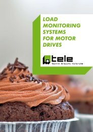 LOAD MONITORING SYSTEMS FOR MOTOR DRIVES