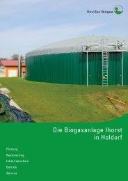 biogasanlage ihorst - EnviTec Biogas AG