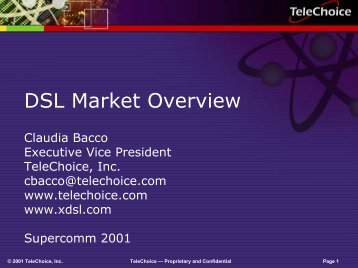 DSL Market Overview