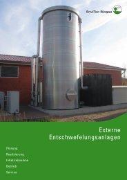 Externe Entschwefelungsanlagen - EnviTec Biogas AG