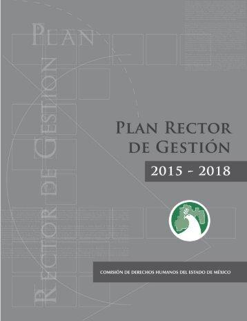 PLAN RECTOR DE GESTIÓN 2015  2018