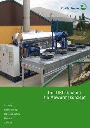 ORC-Technik - EnviTec Biogas AG
