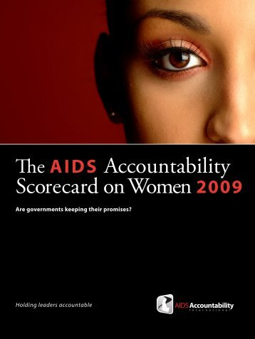 Accountability Scorecard on Women