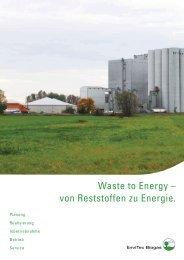 folder branchen w2e 110918.indd - EnviTec Biogas AG