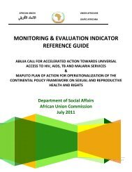 MONITORING & EVALUATION INDICATOR REFERENCE GUIDE