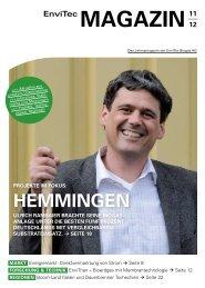 EnviTec Magazin Ausgabe 2012 - EnviTec Biogas AG