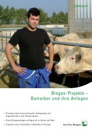 EnviTec Referenzfolder Edition2 dt - EnviTec Biogas AG