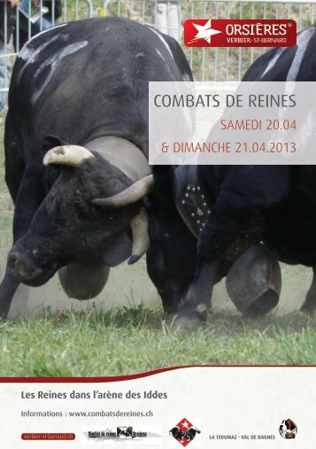 COMBATS DE REINES