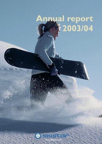 Annual report 2003/04