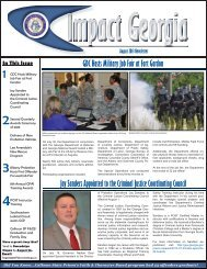 August 2013 Newsletter.indd - Georgia Department of Corrections