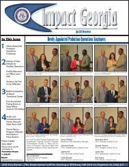 July2013 Newsletter.indd - Georgia Department of Corrections