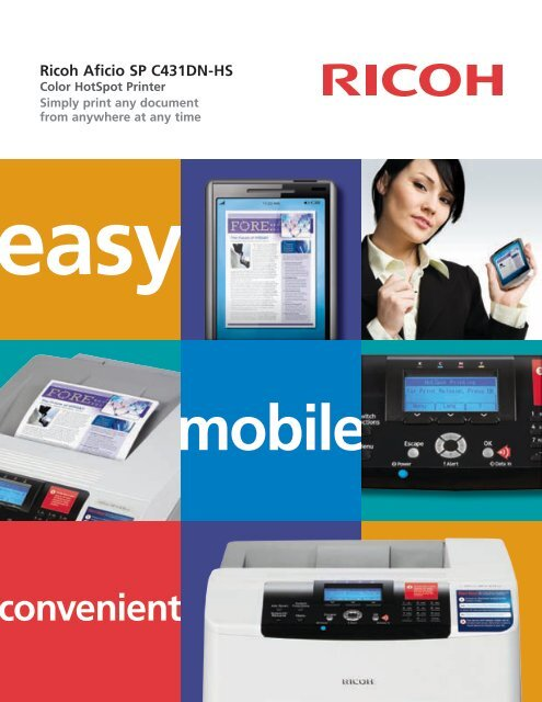 RICOH AFICIO SP C431DN-HS MULTIFUNCTION PCL DRIVER WINDOWS XP