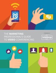 THE MARKETING PROFESSIONAL'S GUIDE TO VIDEO CONFERENCING