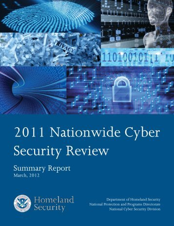 2011 Nationwide Cyber Security Review